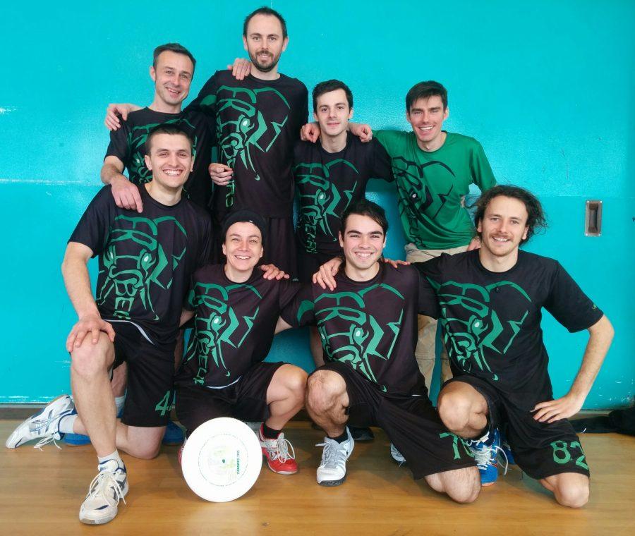 Frisbeurs Equipe 2 infoor Régional Blois 2015