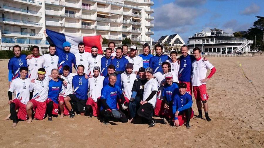 Week end de préparation au Pouliguen le 22 février dernier pour les équipes de France Ultimate Beach