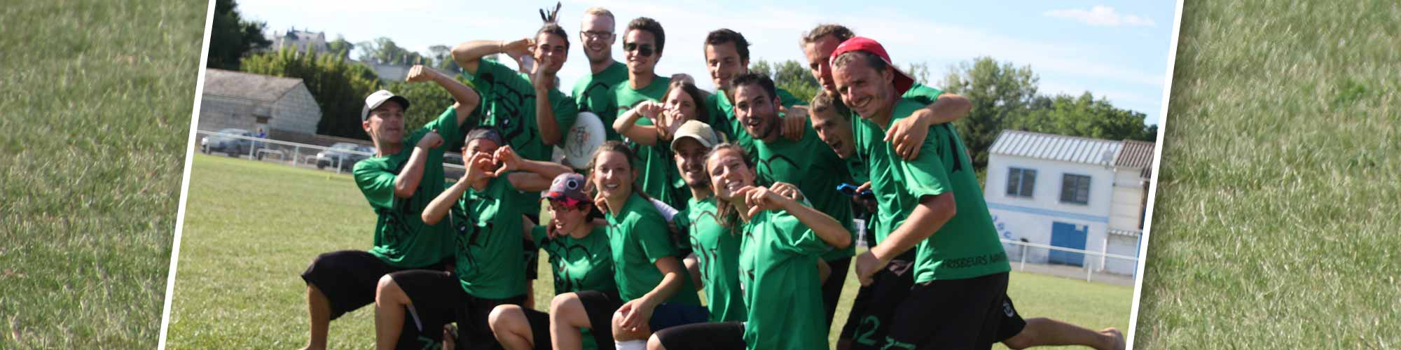 Ultimate ODT frisbee Nantes