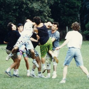 1990 Match d'Ultimate au Grand Blottereau