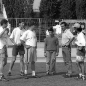 1992 Beaulieu Fré + Oliver + Marc + Manu + LoïcFrancheteau + Jean-Eude