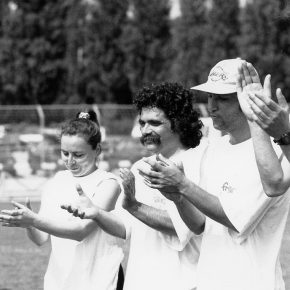 1992 Beaulieu Nathalie + Nadine + Bernard + Fré + Oliver