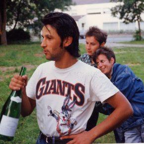 1992 Fré boit + Marc + Nathalie