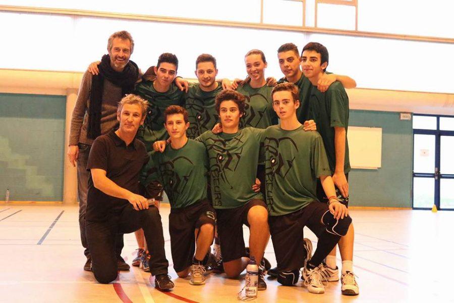 Frisbeurs-U20_Equipe-indoor-2015