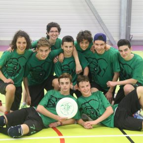 Frisbeurs ultimate indoor 2015 Vay