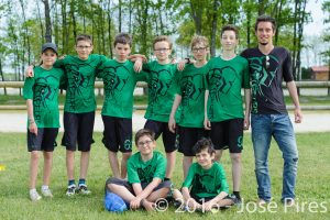 Coupe de France Junior 2016, Lamotte-Beuvron. PhotoID : 2016-05-08-1410 Frisbeurs U15.