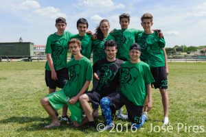 Coupe de France Junior 2016, Lamotte-Beuvron. PhotoID : 2016-05-08-1865  Frisbeurs U20