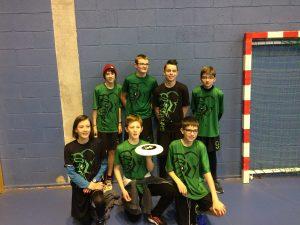 Frisbeurs U15 indoor 2018